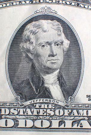 moola: two dollar bill detail