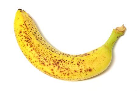 a rotten banana Reklamní fotografie