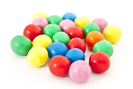 multicolored gumballs: gum balls