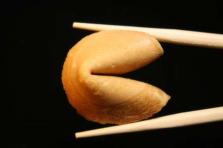 The fortune cookie Stock Photo - 9938893