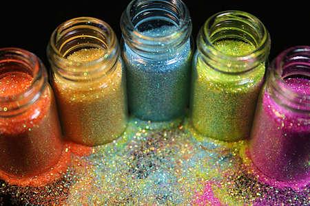 spangle: Glitter