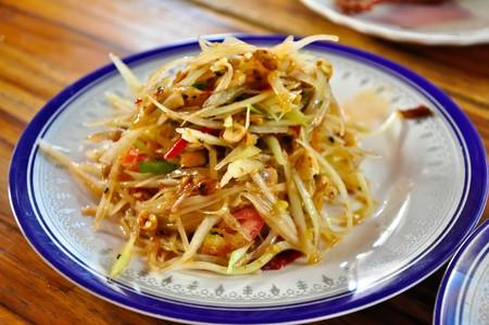 The Papaya Salad Stock Photo - 7636390