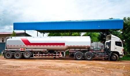 The Fuel container Stock Photo