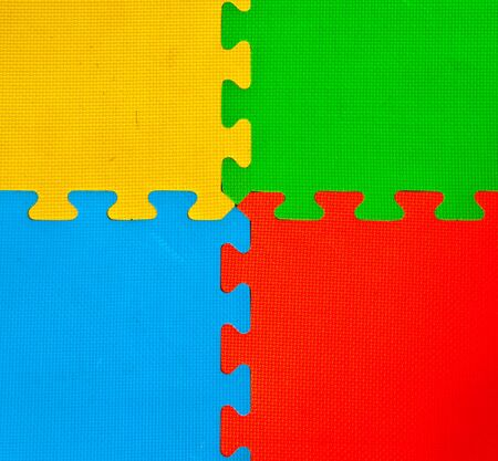 The Colorful of rubber sheet photo