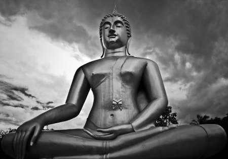 The Buddha status photo