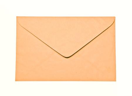 The Envelope isolated on white background Stock Photo - 8403319