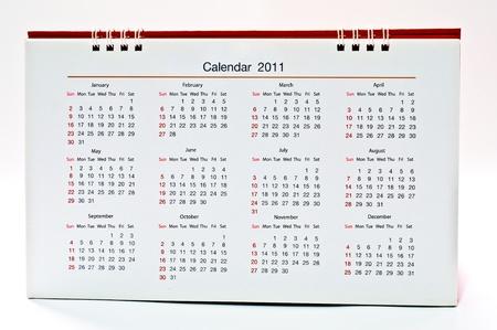 The Calendar of 2011 photo