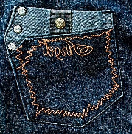 denim wear: The Jean