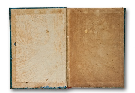 The Vintage book isolated on white background Stock Photo - 8587691