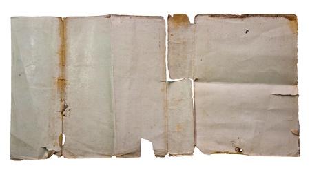 The Vintage paper photo