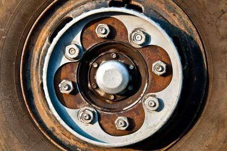 salvage yards: The Abstract of wheel