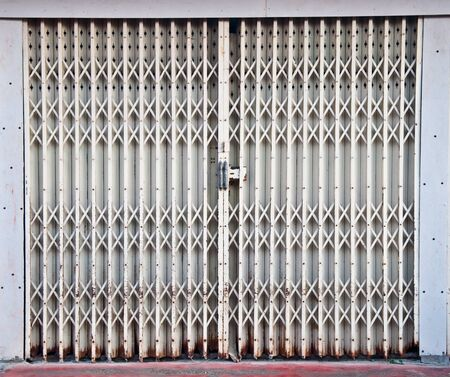 The Steel door Stock Photo - 8588031
