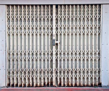 The Steel door Stock Photo - 8588031