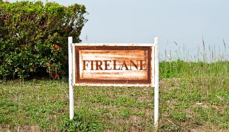 The Firelane frame photo