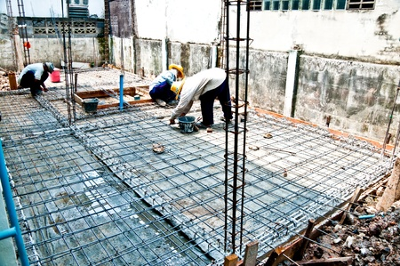 The Home renovation work under construction Stock Photo - 10807745