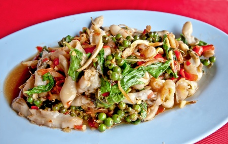 The Salad shell of thai style Stock Photo - 10869460