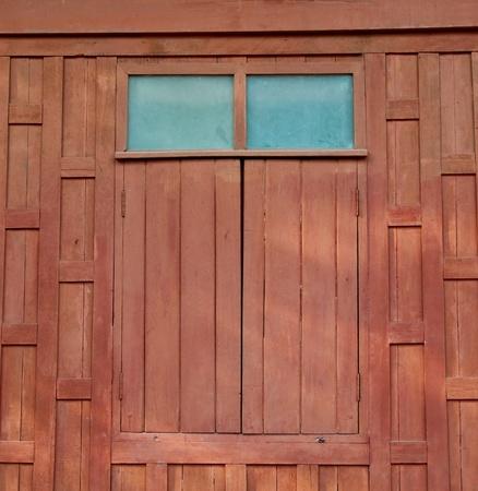 The old wood window photo