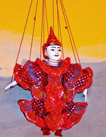 The Thai puppet photo