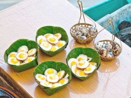 The Quail egg photo