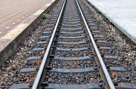 The Railway track Stock Photo - 11884565