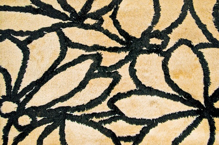 The Abstract pattern  of doormat background photo
