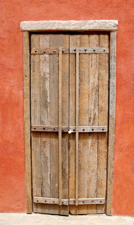 The Ancient door of europe style Stock Photo - 12003968