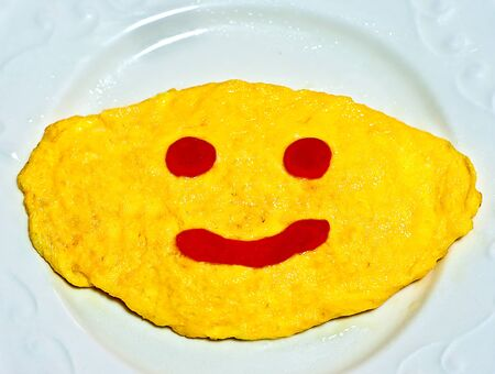 The Smile omelet photo