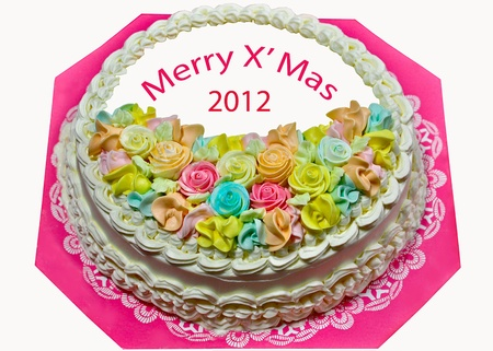 The Beautiful cake of 2012 photo