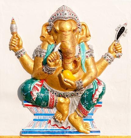 parvati: The Ganesha status Stock Photo