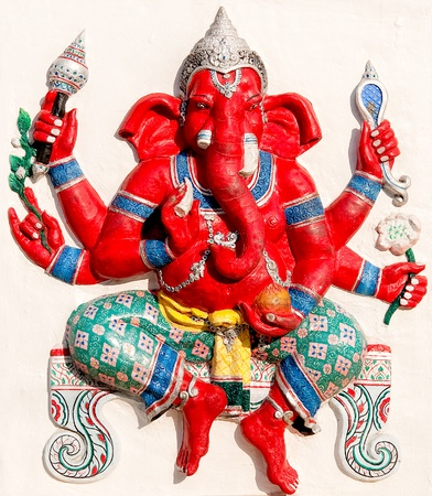 hindu god: The Ganesha status Stock Photo