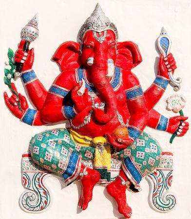 hindu god: The Ganesha status Stock Photo