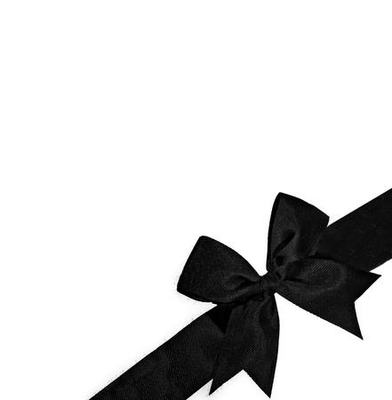 fiocco oro: Il nastro viola isolato su sfondo bianco Archivio Fotografico