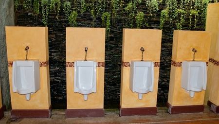 The Design of the urinate toilet bowl Stock Photo - 12617263