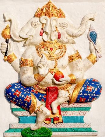 siddhivinayaka: The Ganesha status Stock Photo