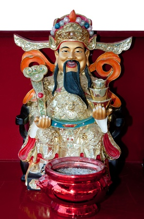 The God of wealth rich and prosperity chinese style photo