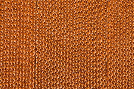 The Texture of brown corrugate cardboard background photo