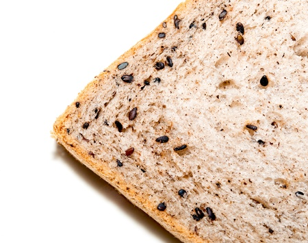 The Fresh bread with black sesame photo