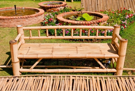 The Bamboo bench photo