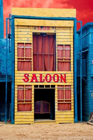 Le Saloon historique close-up