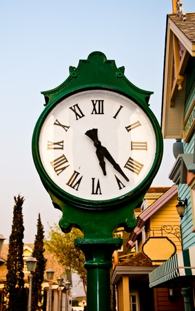 The Antique clock photo