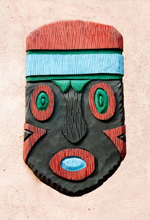 The Decorative African mask photo
