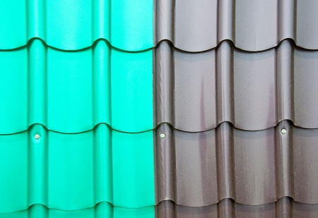 The Colorful roof metal photo