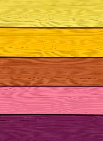 The Colorful of artificial wood for construction photo