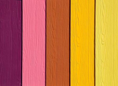 The Colorful of artificial wood for construction Stock Photo - 14572416