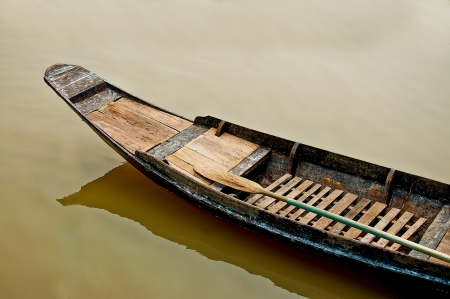 The Old boat in thailand photo