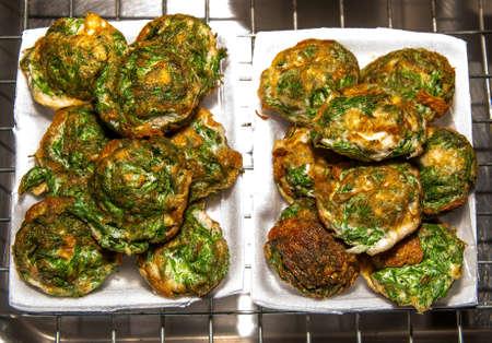 pennata: Fried acacia pennata of food thai style