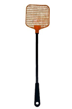 Flyswatter isolated on a white background Stock Photo