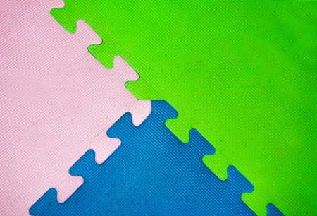 Colorful of rubber sheet photo