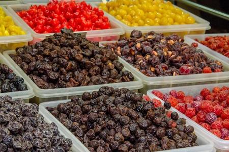 frutos secos: Colorida de frutas secas