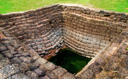 water well: Ancient brick well